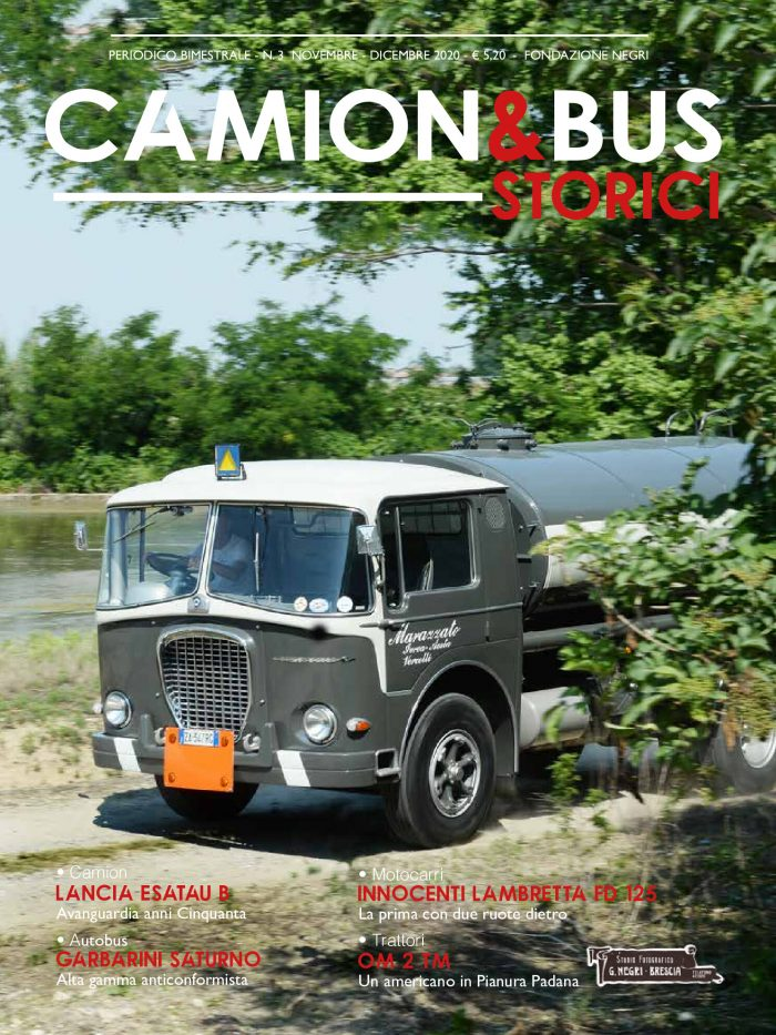 Camion e Bus storici - copertina numero 3